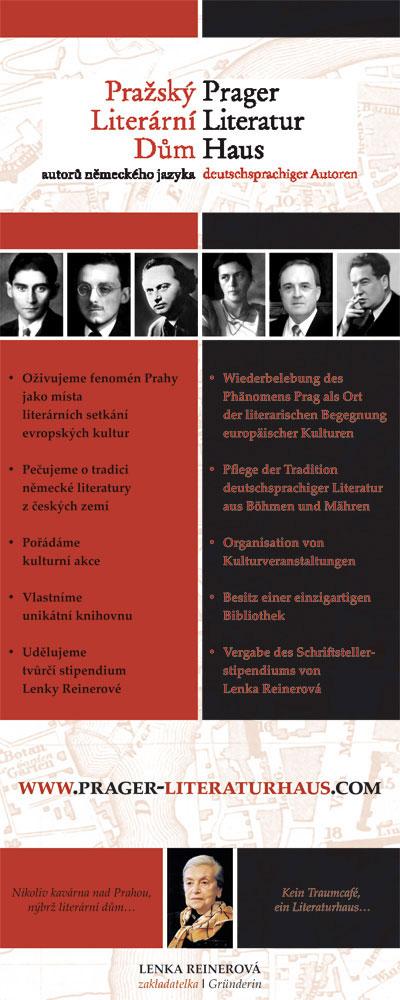 návrh plakátu a sazba - pro Pražský literární dům
