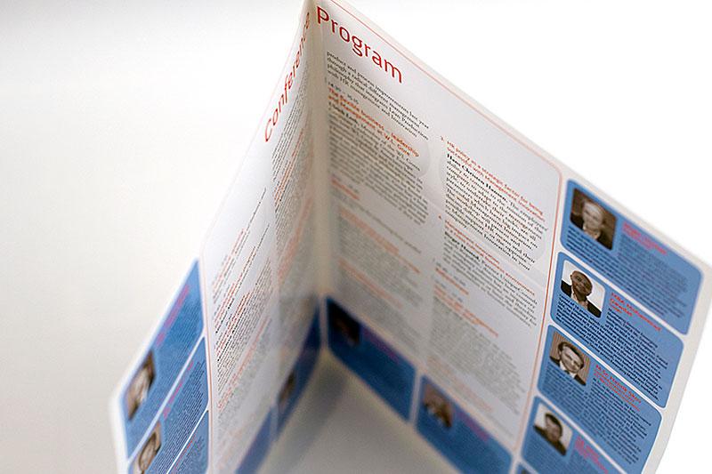 Grafický návrh letáku jako propagačního materiálu pro společnost Unique Consult.