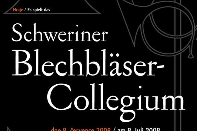plakát ke koncertu Colegium Bohemica
