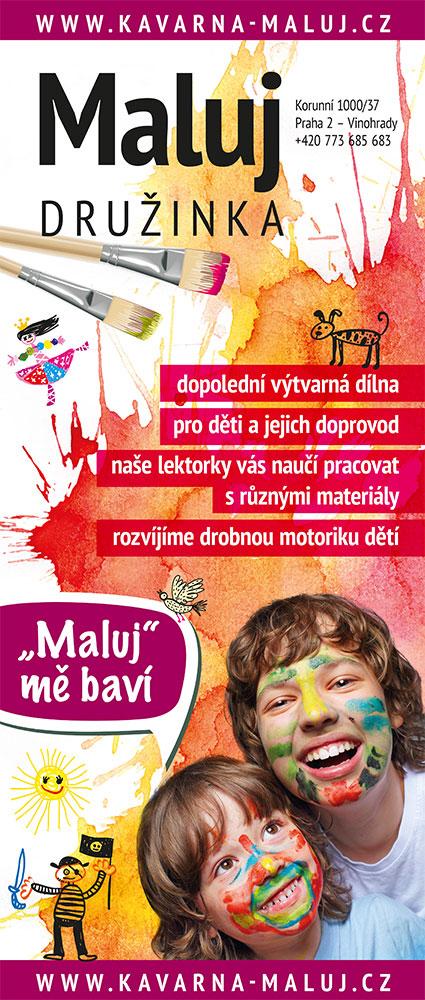 roll-up - kavárna Maluj