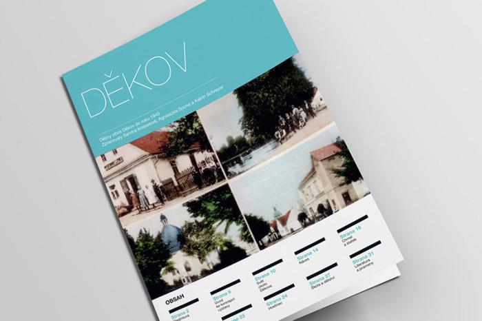 Brožura Děkov pro společnost Antikomplex.