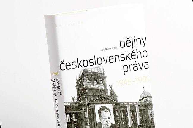 Dějiny československého práva - grafický návrh a sazba knihy