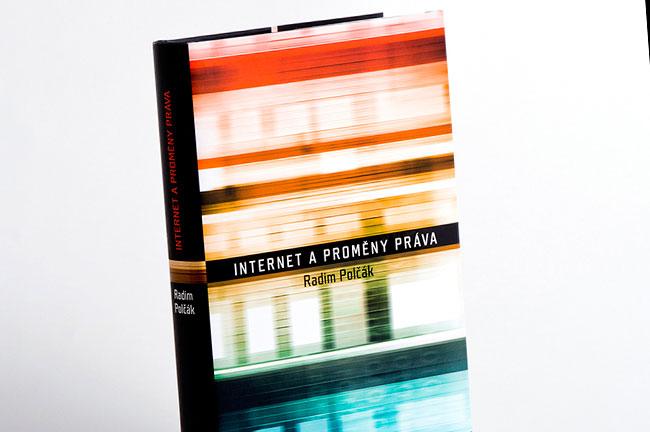 Internet a proměny práva - grafický návrh a sazba knihy
