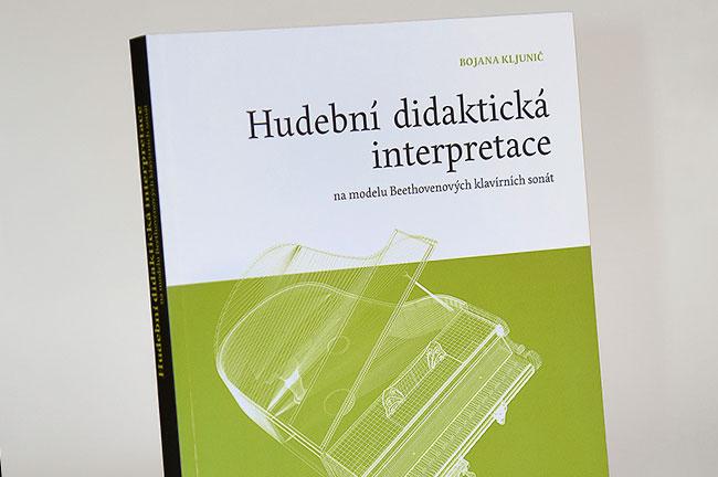 grafický návrh a sazba knihy Hudební didaktická interpretace (na modelu Beethovenových klavírních sonát)