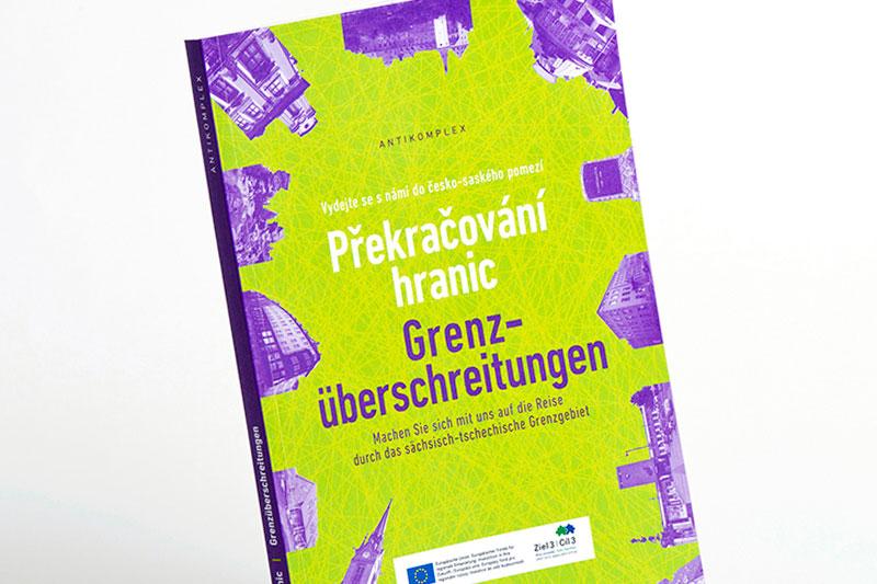 česko-německá kniha Překračování hranic