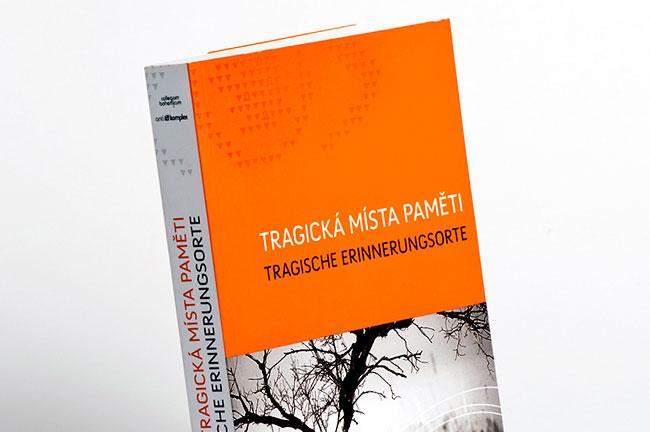 grafický návrh a sazba - kniha Tragická místa paměti (Antikomplex)